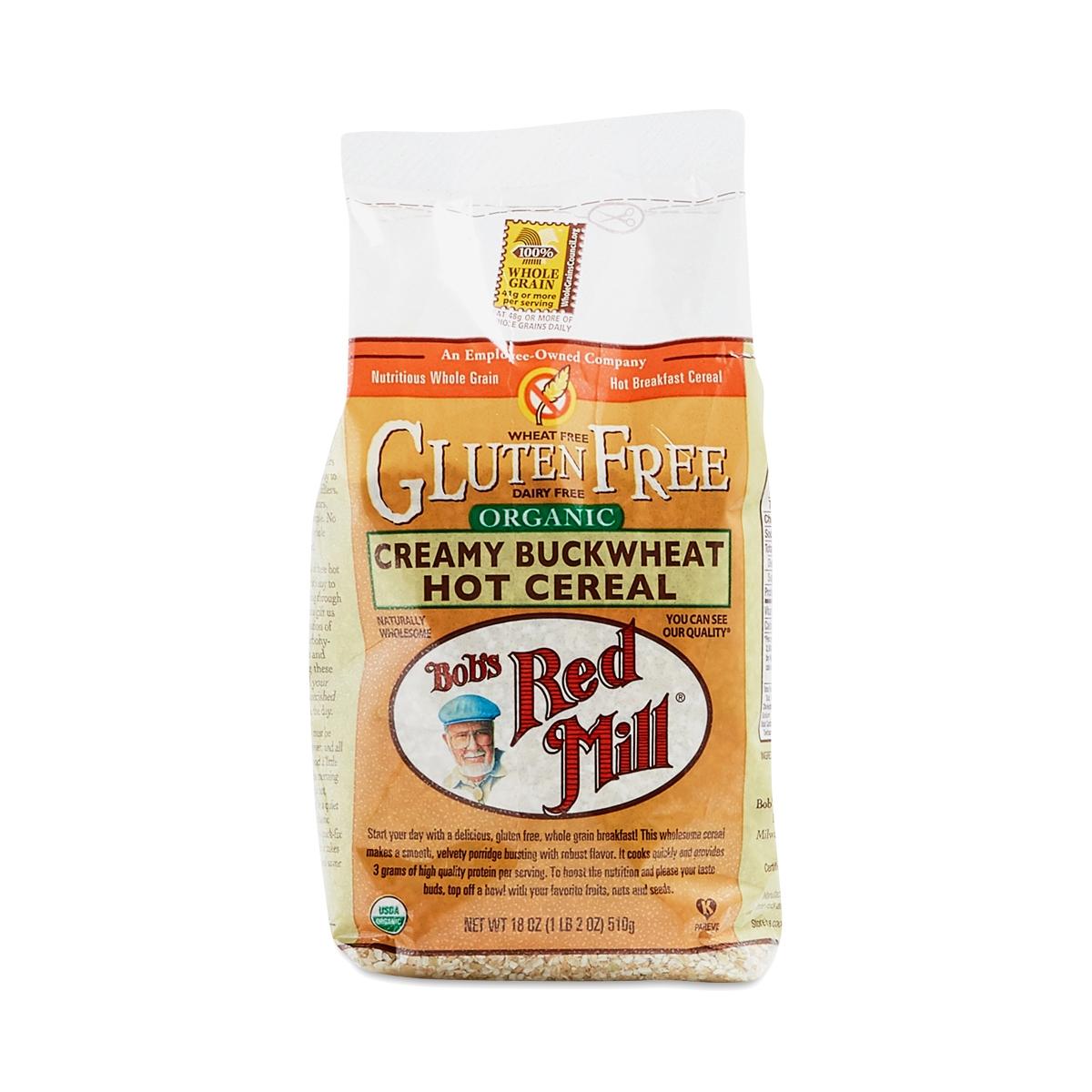 Bob's Red Mill Organic Creamy Buckwheat Hot Cereal 18 oz bag