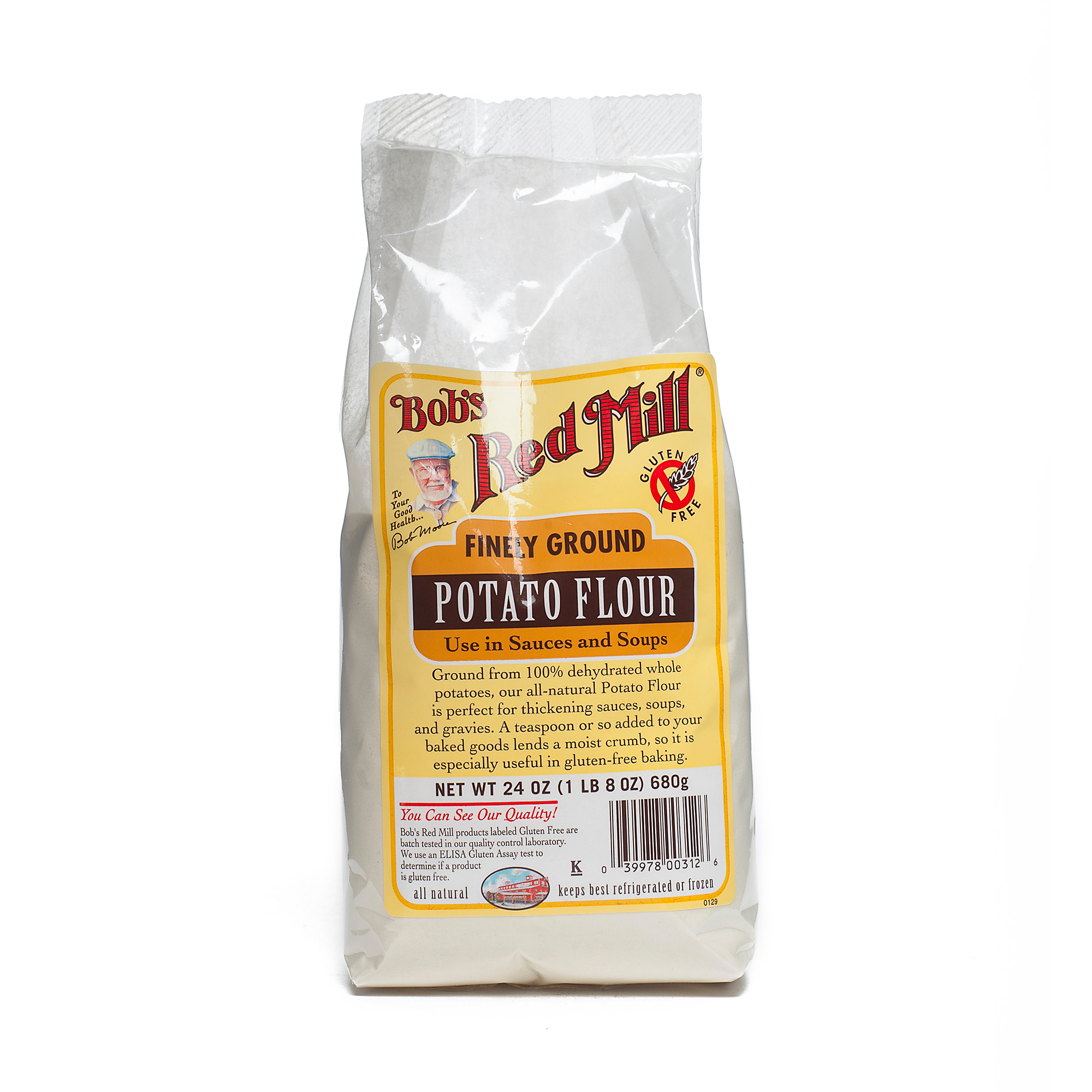 Bobs Red Mill Flour Gluten Free Potato, 24 oz