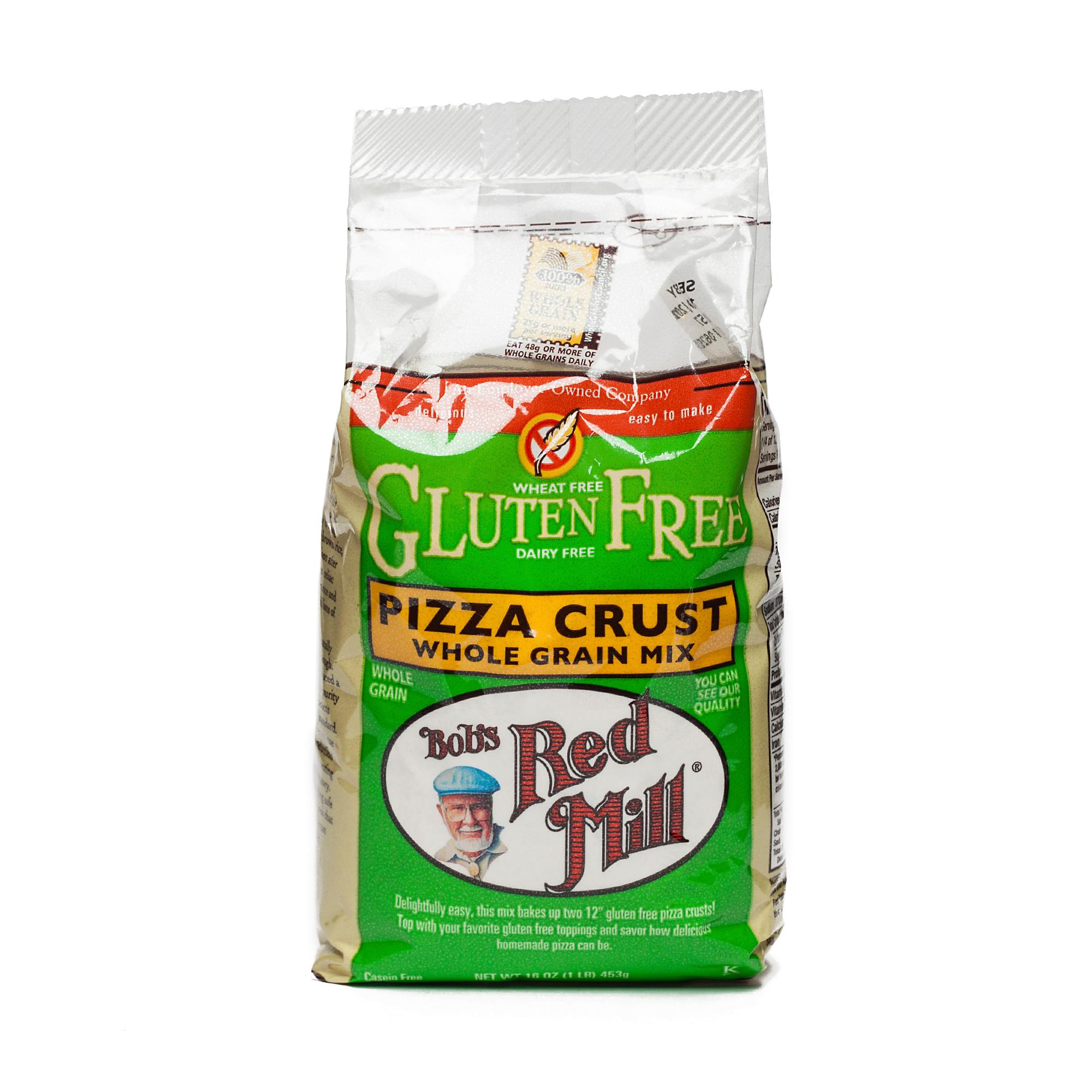 Image of Bob's Red Mill Gluten Free Pizza Crust Mix 16 oz bag