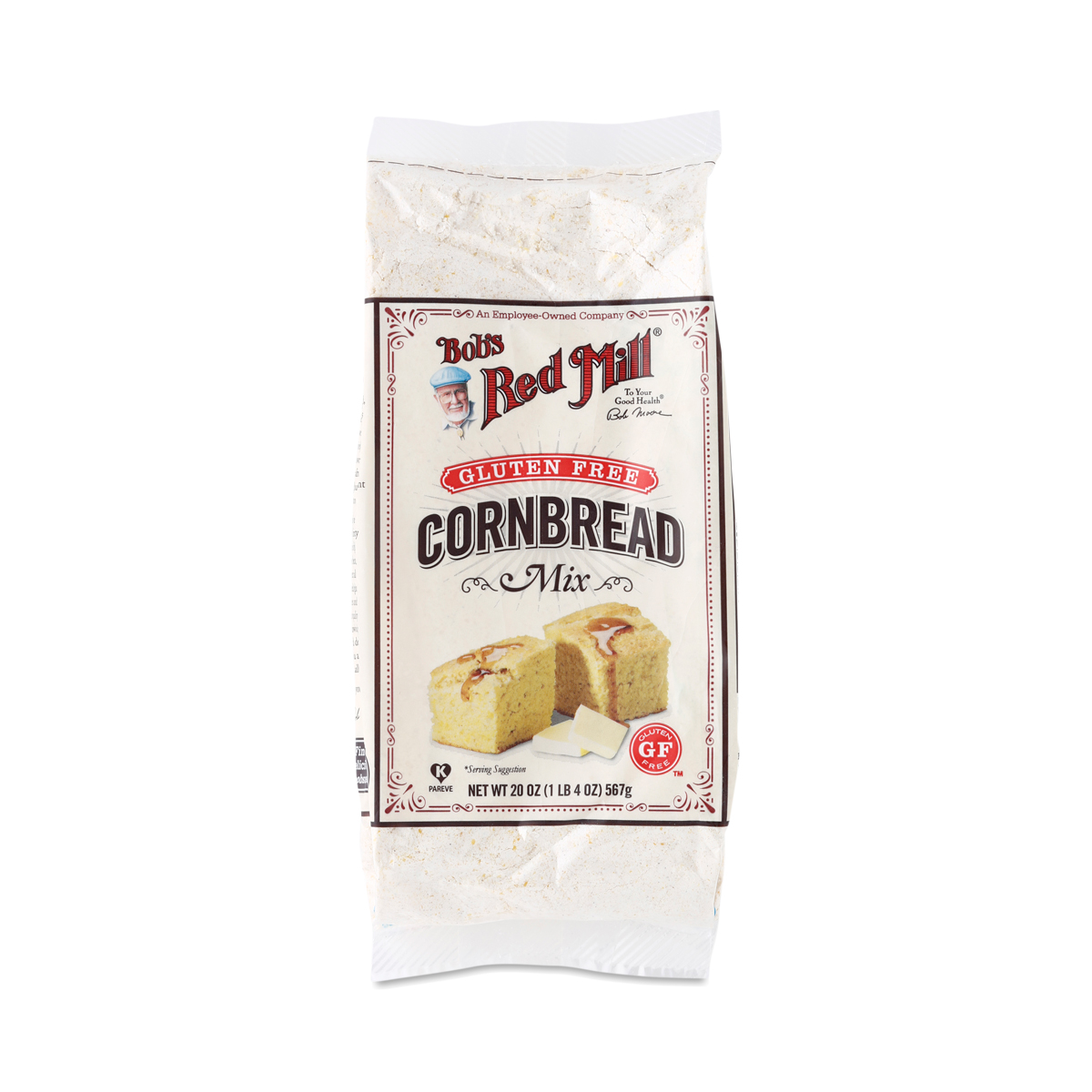 Image of Bob's Red Mill Gluten-Free Cornbread Mix 20 oz bag