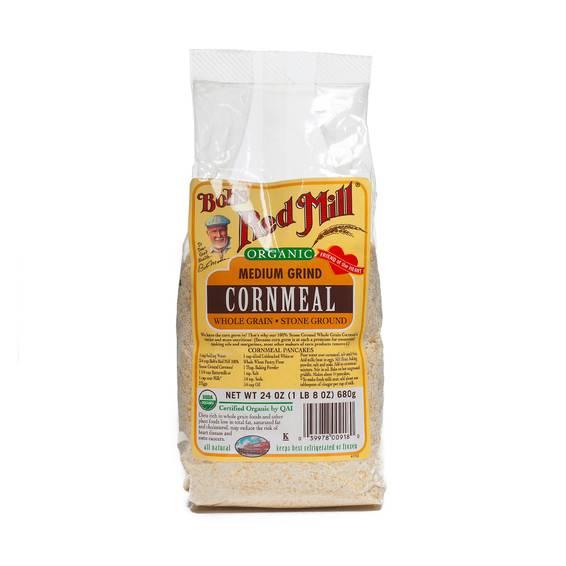 Organic Medium Grind Cornmeal