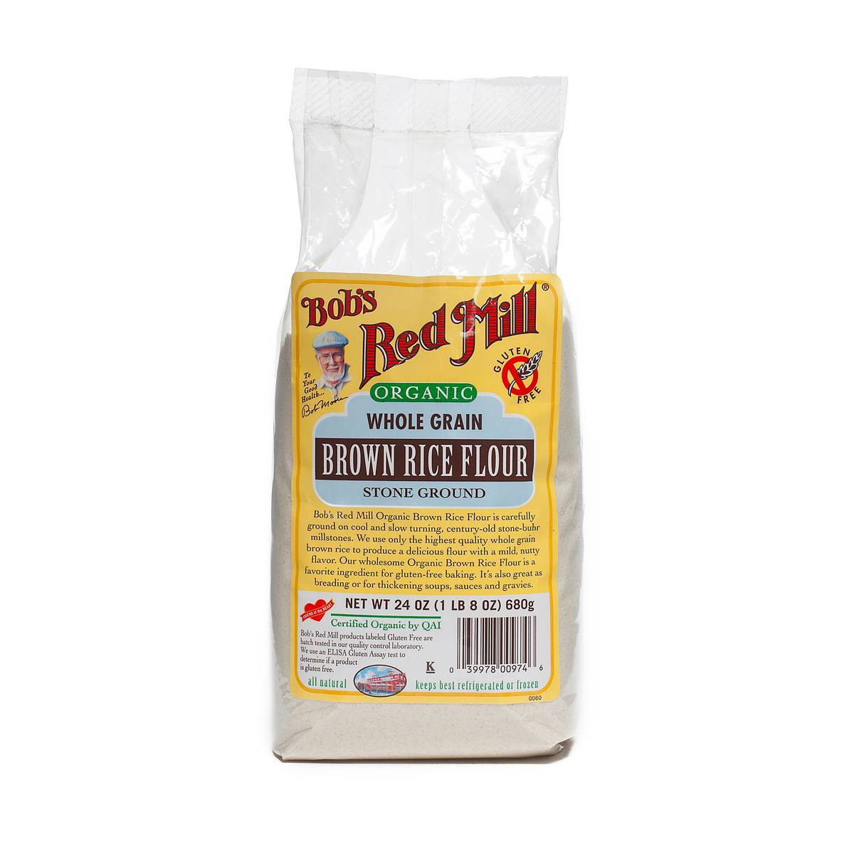 Organic Brown Rice Flour By Bob S Red Mill Thrive Market