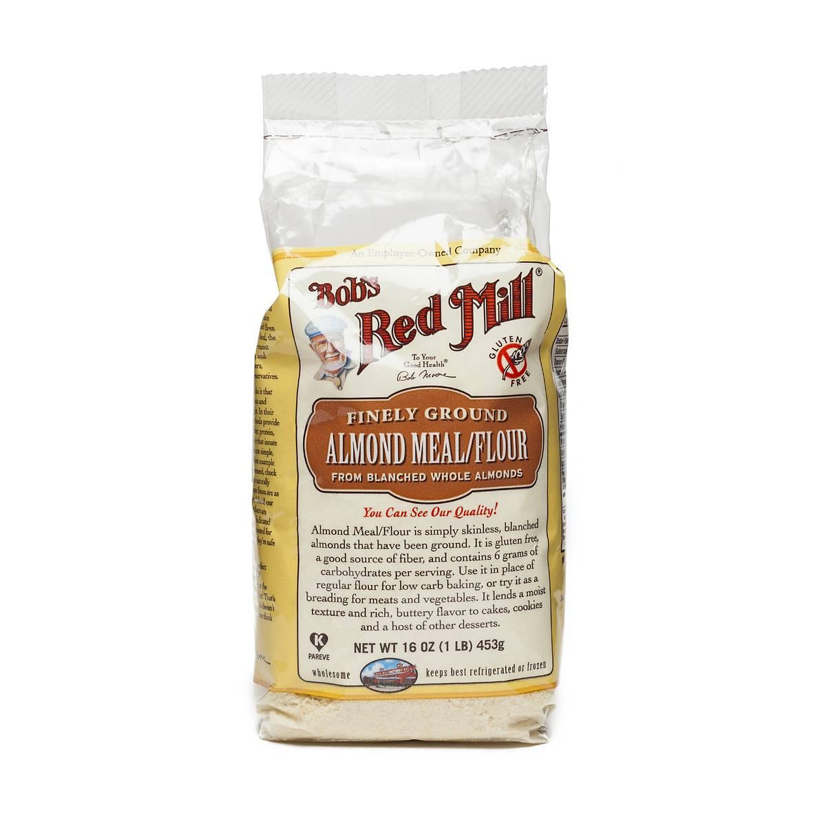 Almond meal flour by bob s red mill thrive market for Bob s fish market