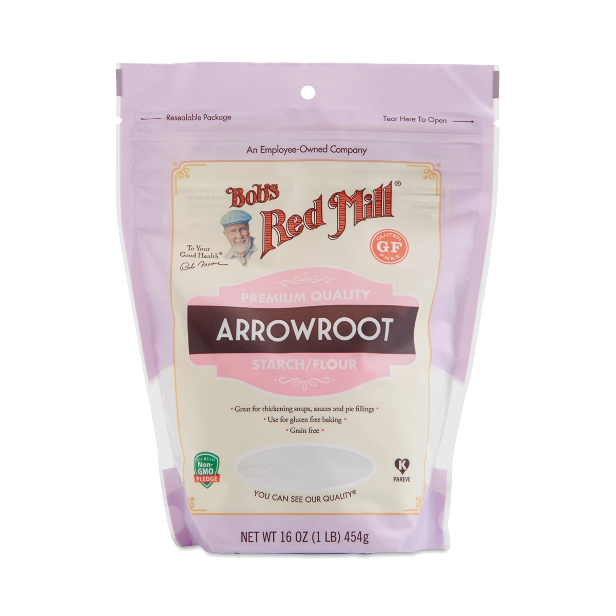 Bob's Red Mill Arrowroot Starch / Flour 16 oz bag