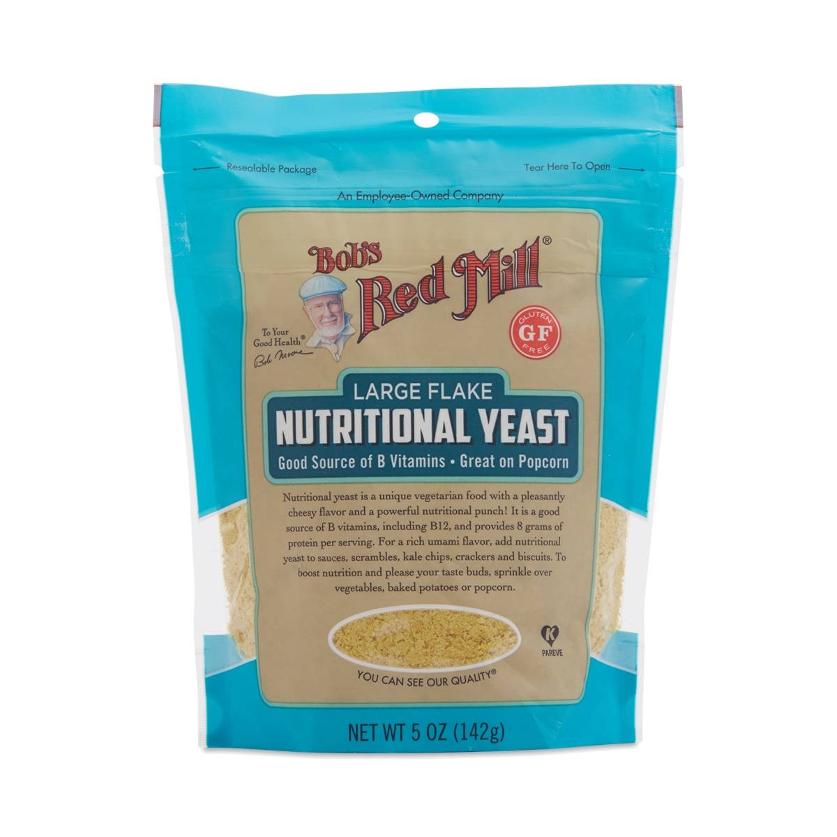 Large Flake Nutritional Yeast by Bob's Red Mill - Thrive Market