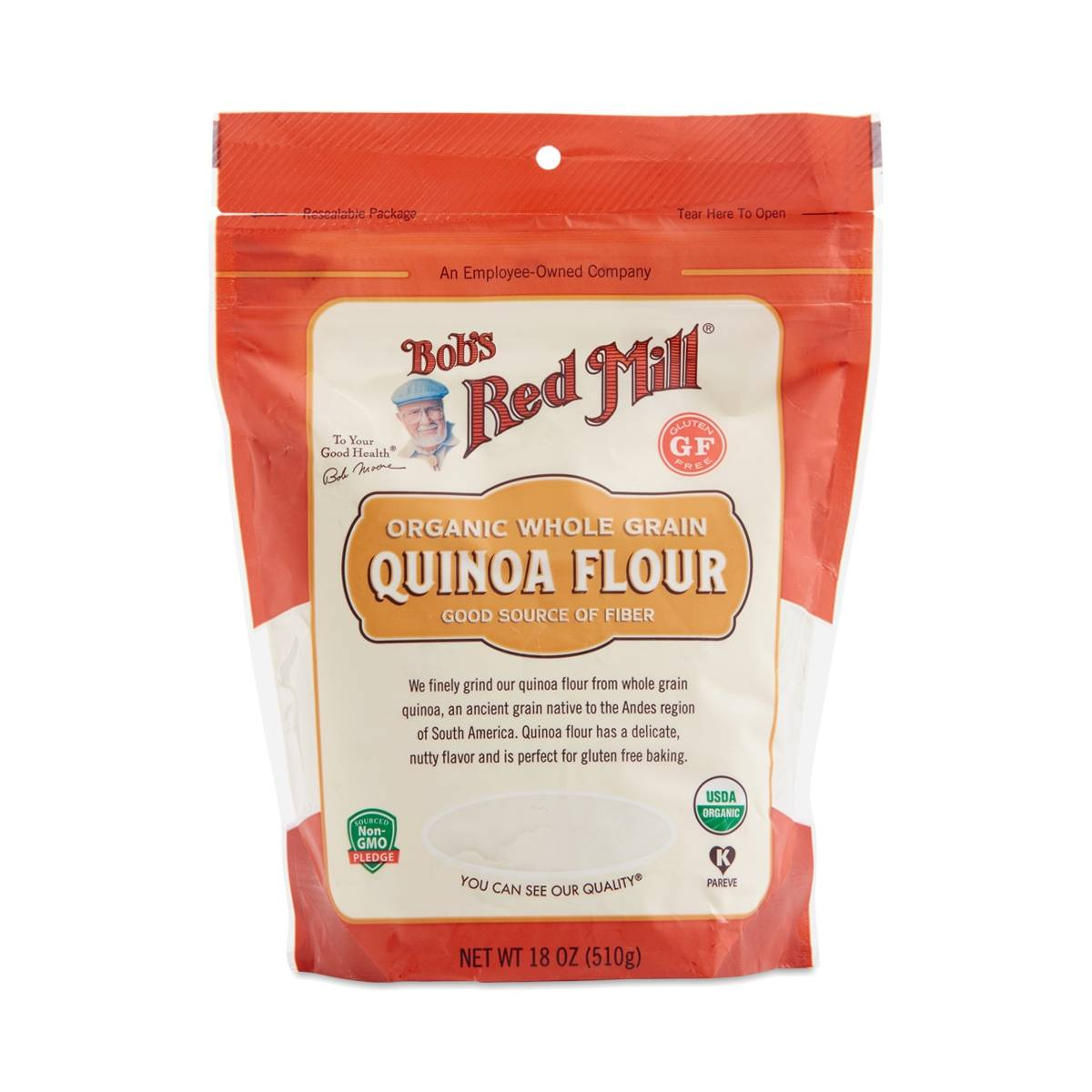 Organic Quinoa Flour by Bob's Red Mill - Thrive Market