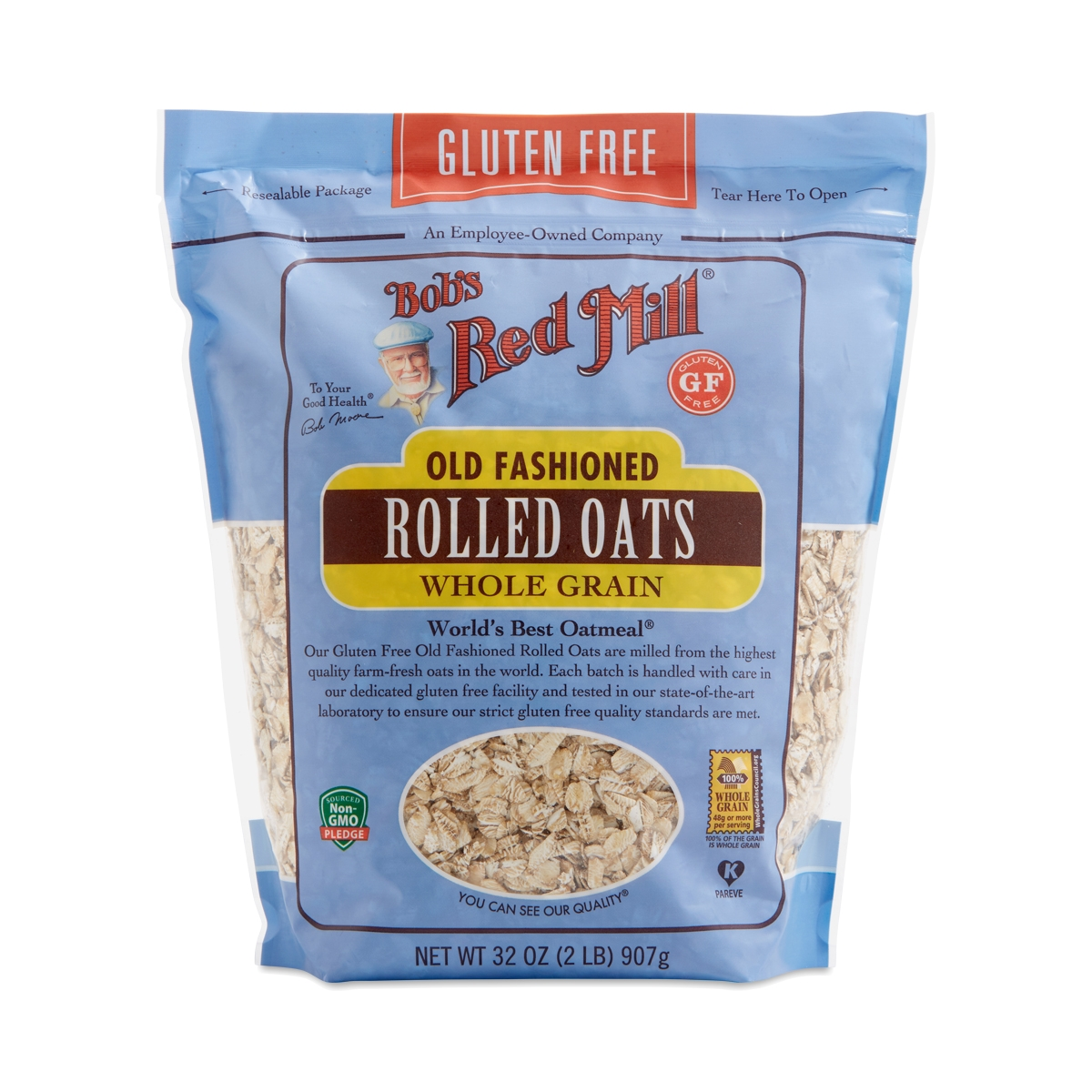 Bob's Red Mill Gluten-Free Rolled Oats 32 oz bag