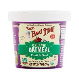 Organic Fruit & Seed Oatmeal Cup