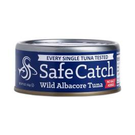 Wild Albacore Tuna, No Salt Added