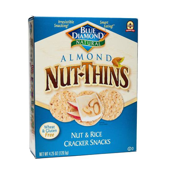 Almond Nut Thins Crackers