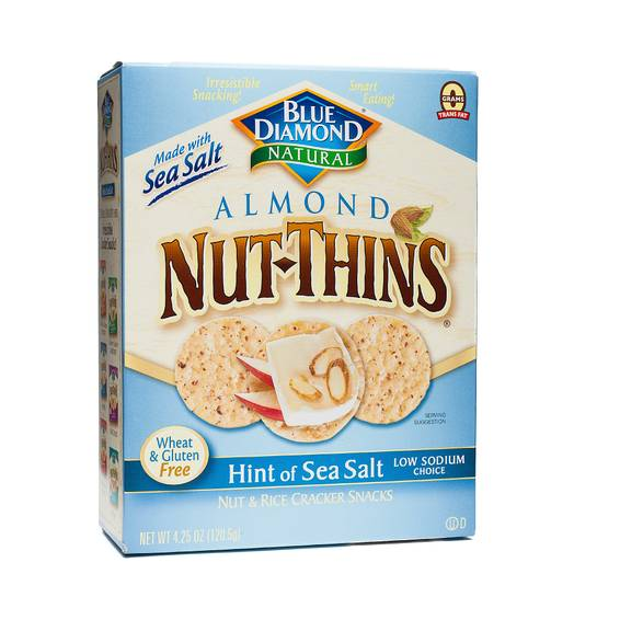 Sea Salt Nut Thins Crackers