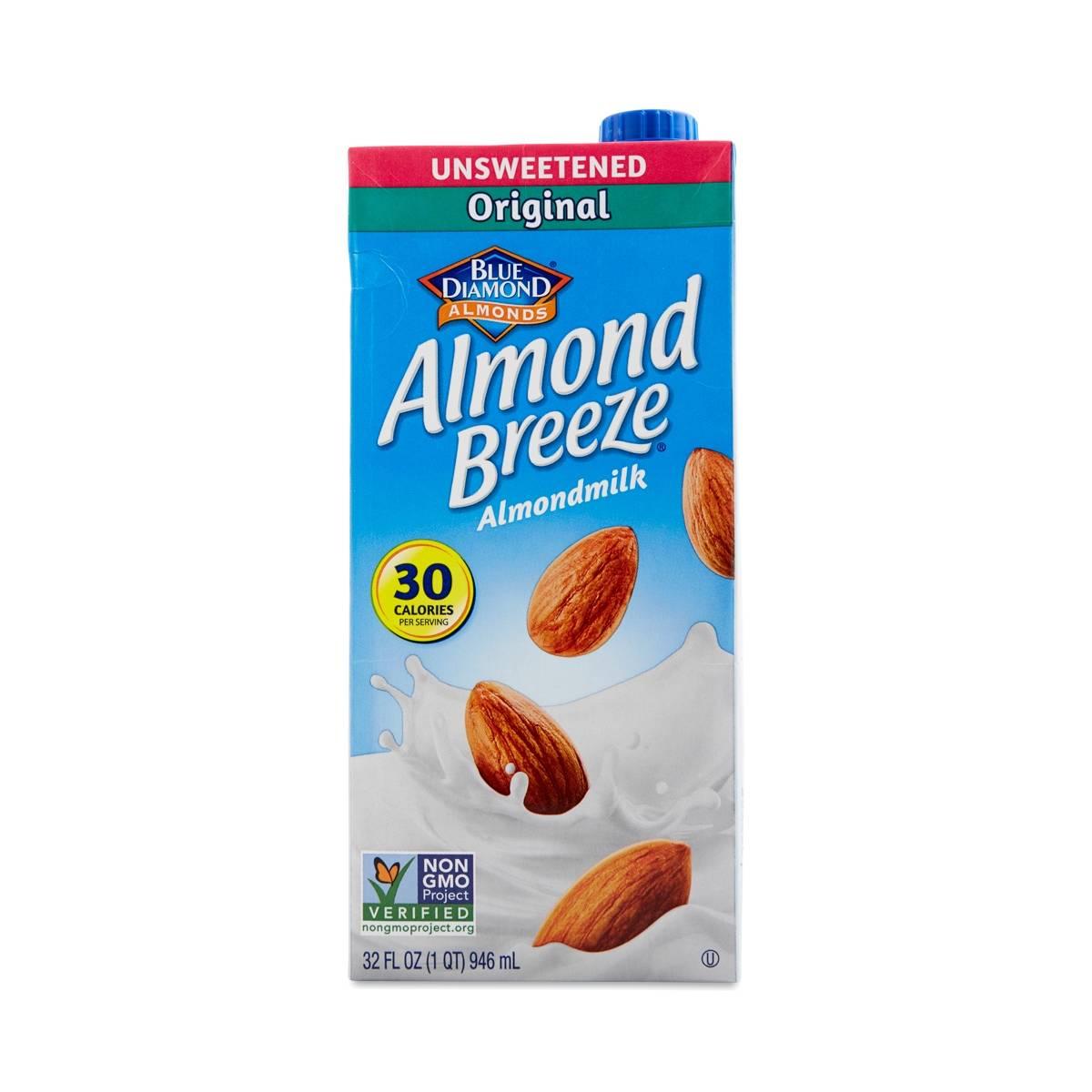 Almond Breeze Unsweetened Original Almond Milk Thrive Market