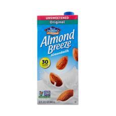 Almond Breeze Unsweetened Original Almond Milk