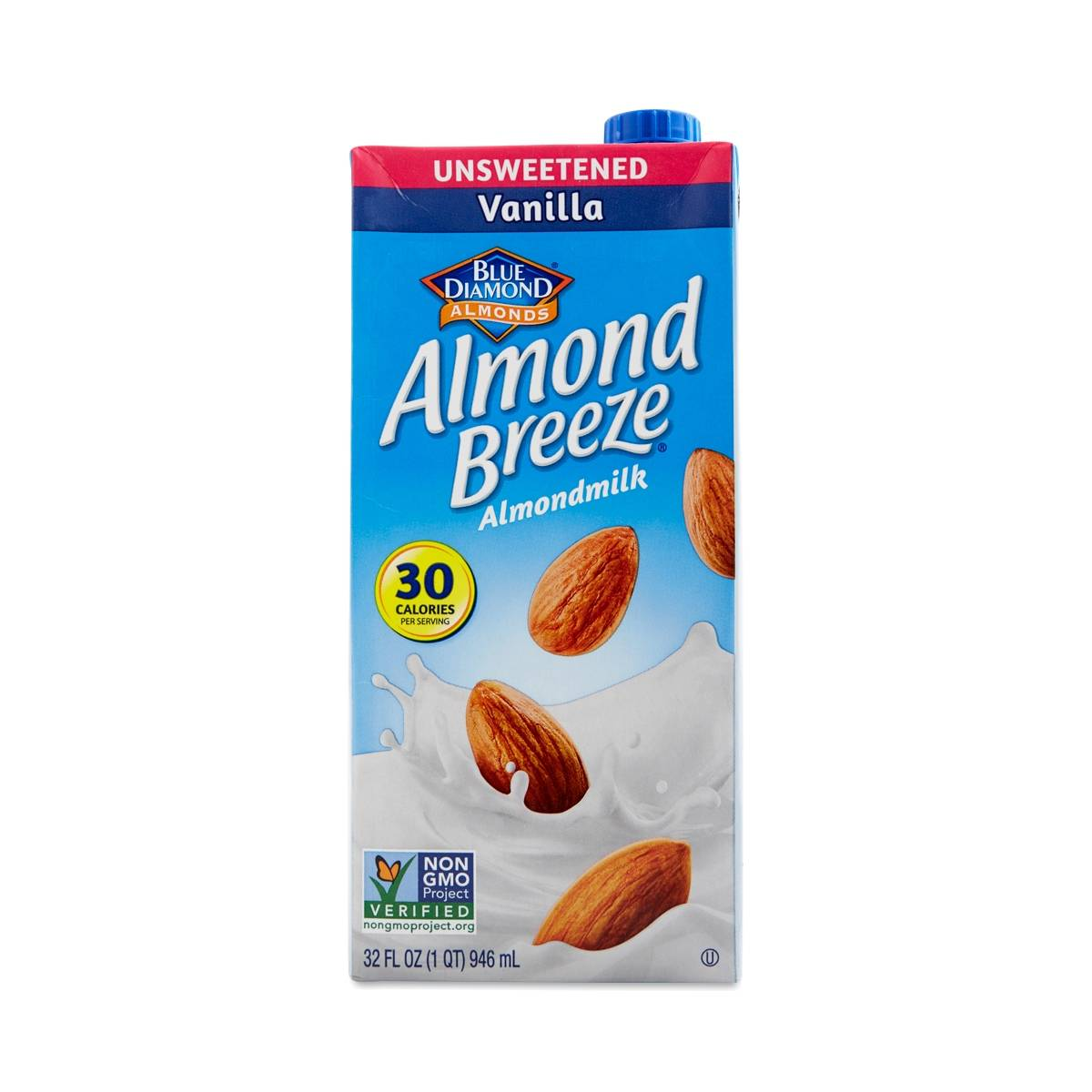 Almond Breeze Unsweetened Vanilla Almond Milk Thrive Market