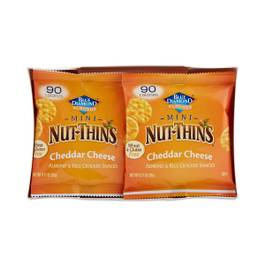 Mini Nut Thins Snacks - Chedder Cheese