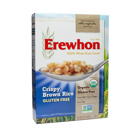 Organic Crispy Brown Rice Cereal