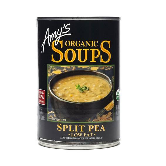 Organic Split Pea Soup - Low Fat