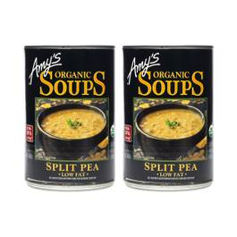 Organic Split Pea Soup - Low Fat (2-pack)