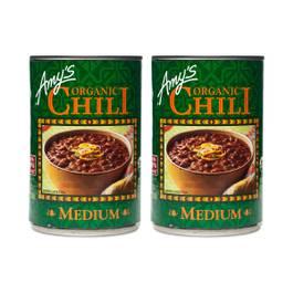 Organic Medium Chili (2-pack)