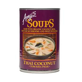 Thai Coconut Soup, Tom Kha Phak