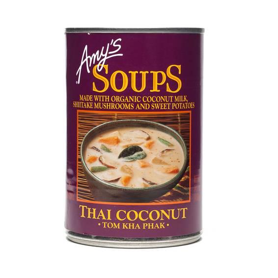 Thai Coconut Soup, Tom Kha Phak
