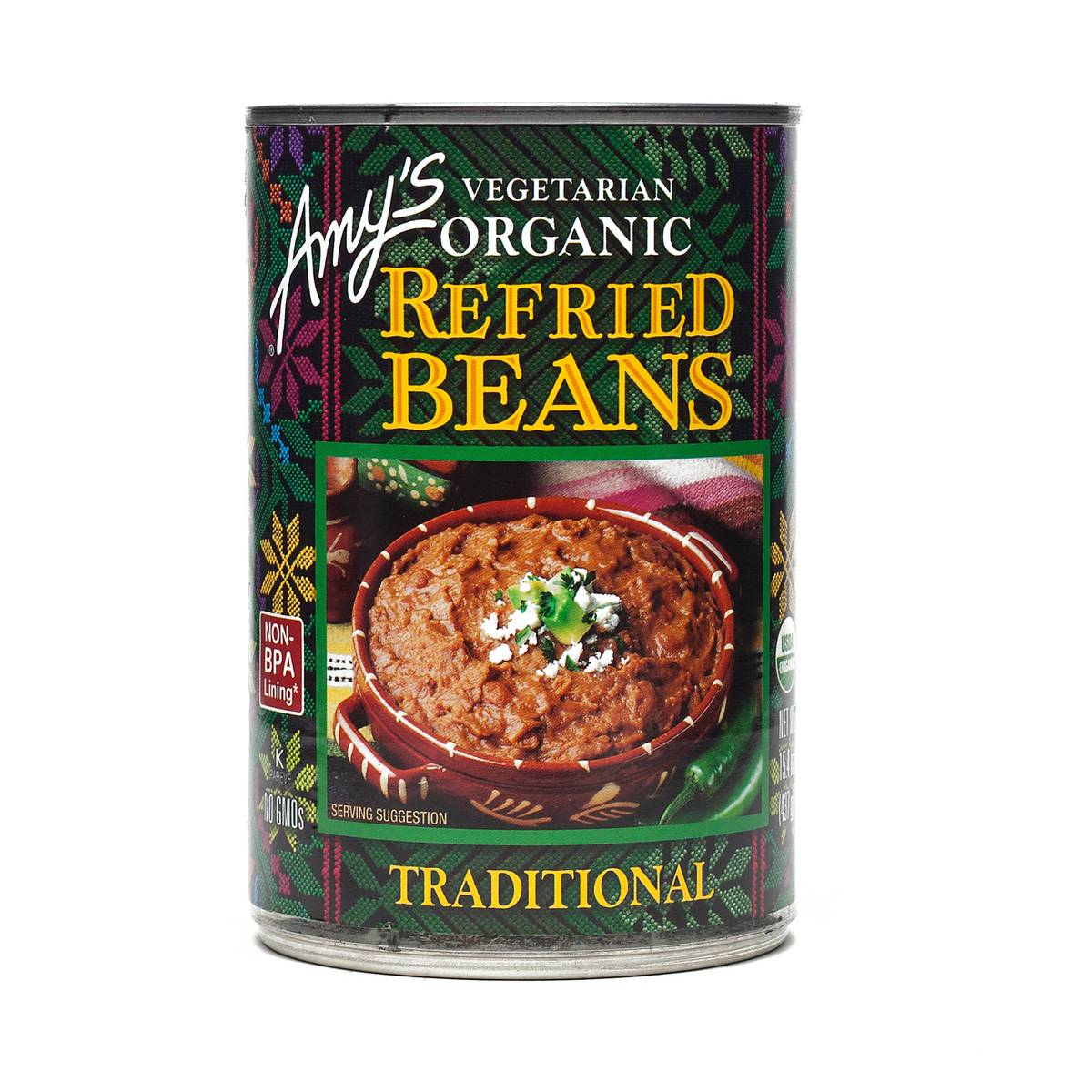 Amy S Kitchen Refried Beans