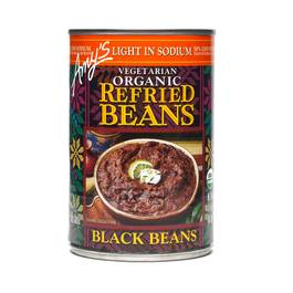 Organic Refried Black Beans - Low Sodium