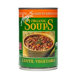 Organic Lentil Vegetable Soup - Low Sodium