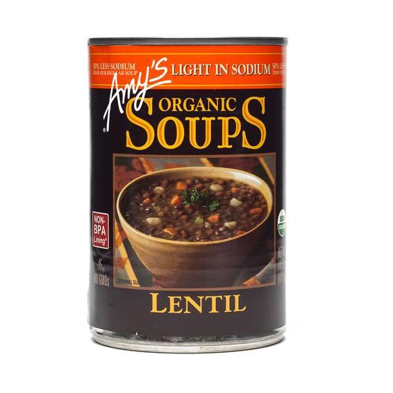 Organic Lentil Soup - Low Sodium