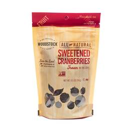 All-Natural Sweetened Cranberries