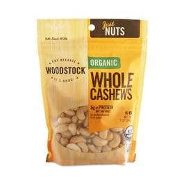 Organic Large Whole Cashews