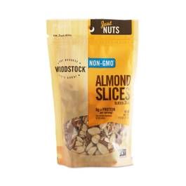 Raw Almond Slices, Thick