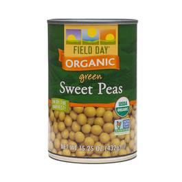 Organic Green Sweet Peas
