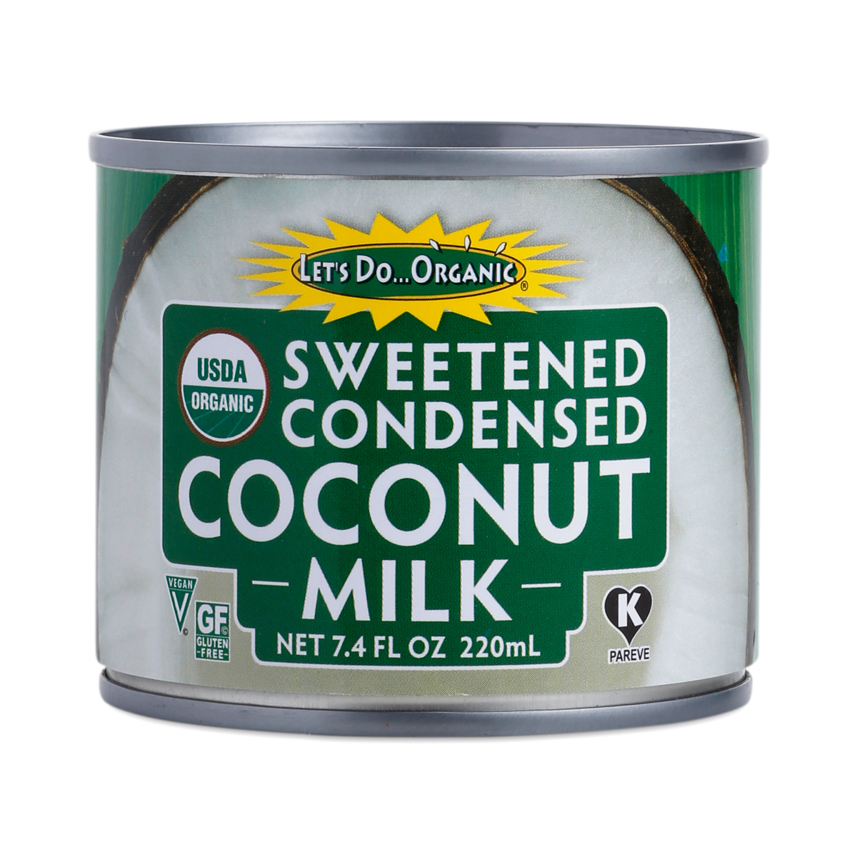 Condensed Coconut Milk By Let S Do Organic Thrive Market