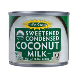Organic Sweetened Condensed Coconut Milk