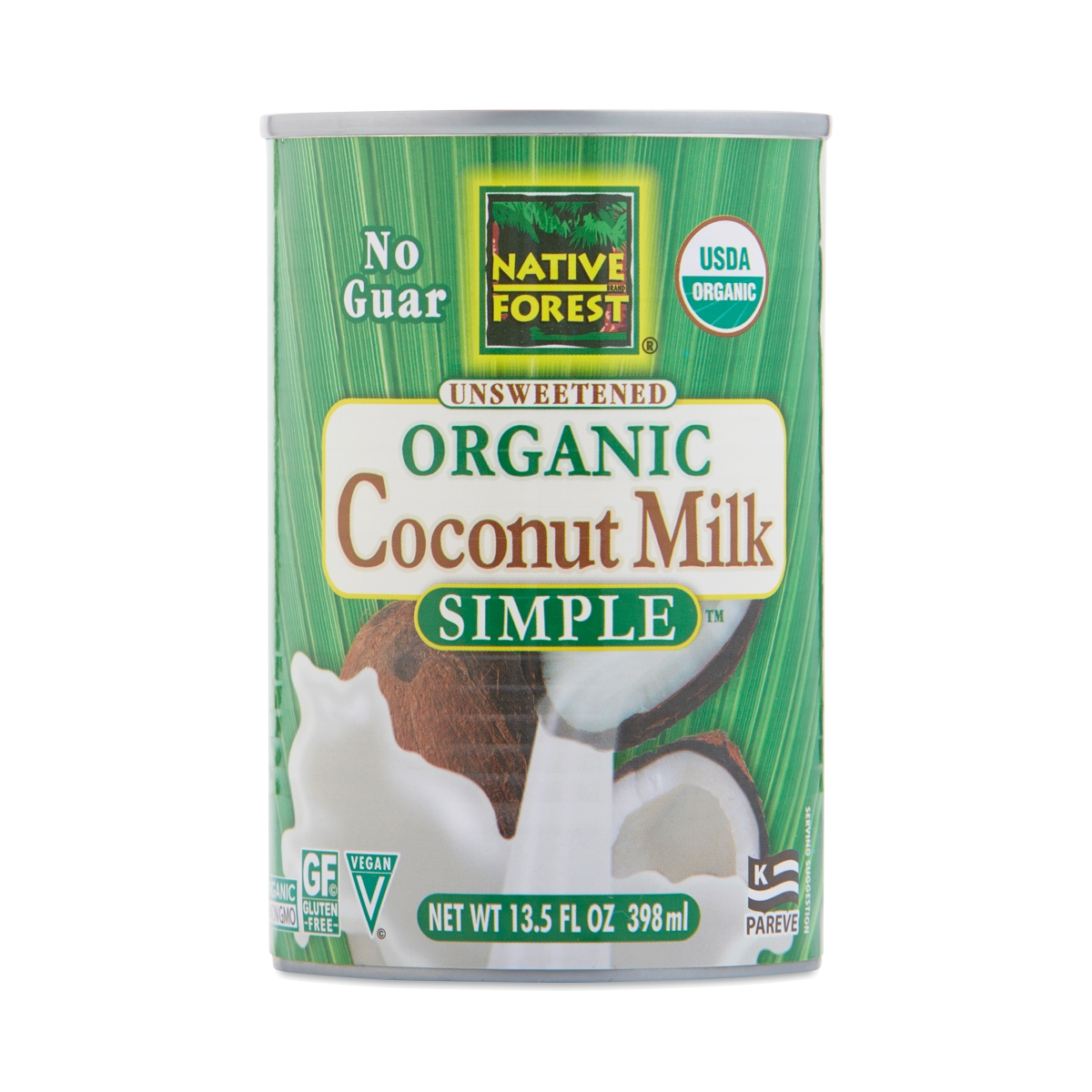 Native Forest Organic Simple Coconut Milk 13.5 oz can