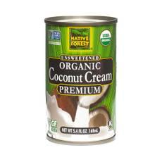Organic Coconut Cream, Unsweetened