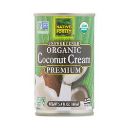 Organic Coconut Cream, Unsweetened