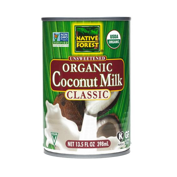 Canned Coconut Milk Organic