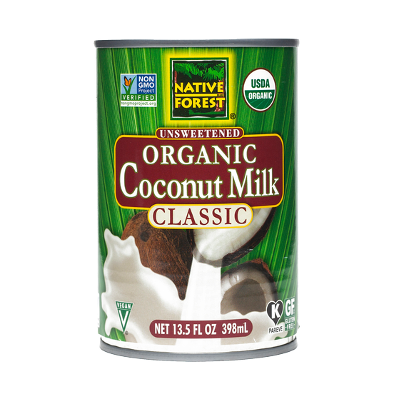 Canned Coconut Milk Organic