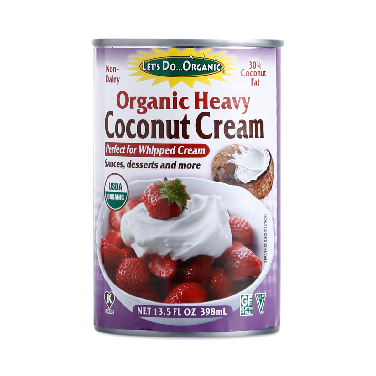 Organic Coconut Cream By Let S Do Organic Thrive Market
