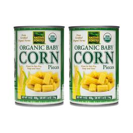 Organic Cut Baby Corn (2-pack)