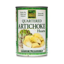 Artichoke Hearts - Quartered