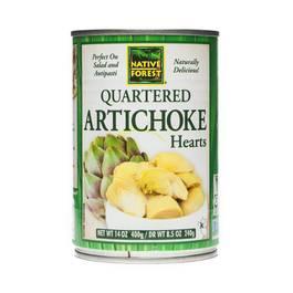 Artichoke Hearts - Quartered