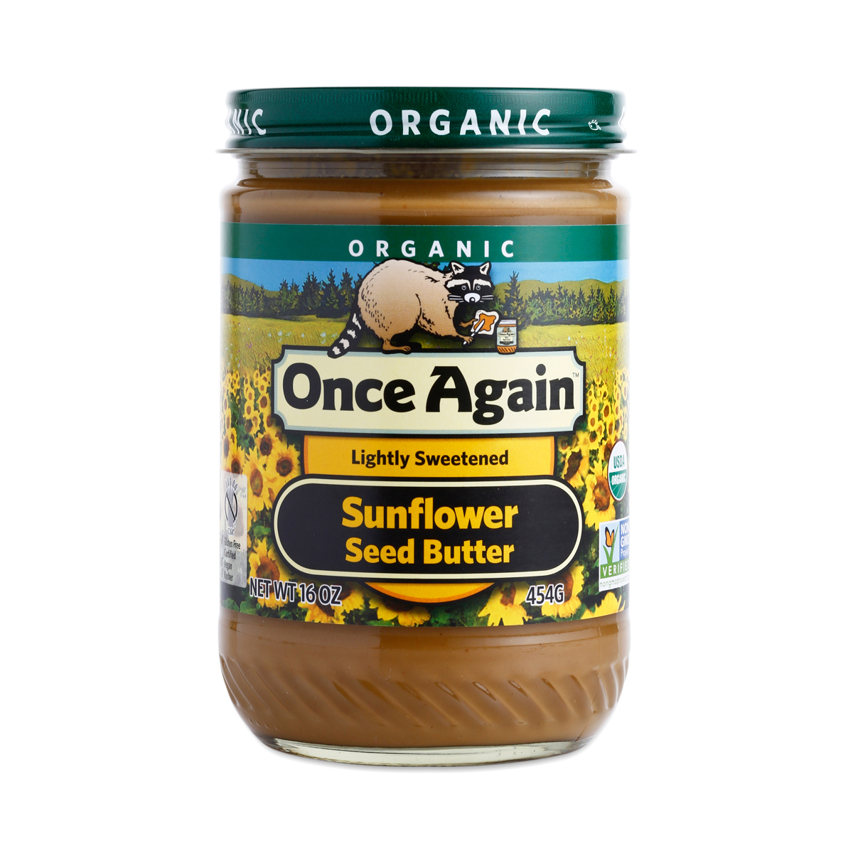 Organic Sunflower Seed Butter By Once Again Thrive Market