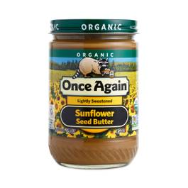 Organic Sunflower Seed Butter - Lightly Sweetened