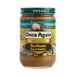 Organic Sunflower Seed Butter - Lightly Sweetened