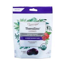 TheraZinc Lozenges, Elderberry Raspberry