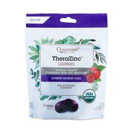 TheraZinc Lozenges, Elderberry Raspberry