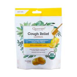 Cough Relief Lozenges, Meyer Lemon